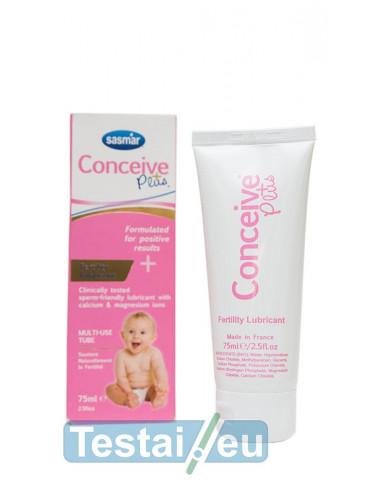 Vaginalinis lubrikantas Conceive Plus 75 ml