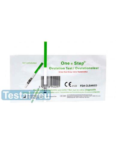 Ovuliacijos testas One step (plati juostelė, itin jautrus)
