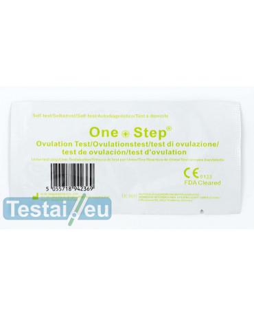 Ovuliacijos testas One step (siaura juostelė, itin jautrus)