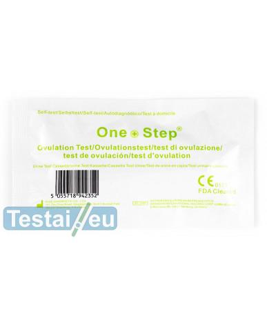 Ovuliacijos testas One Step (kasetė)