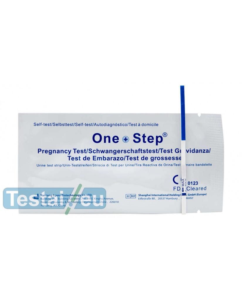 Nėštumo testas One Step (siaura juostelė)