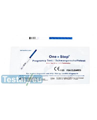 Nėštumo testas One Step (plati juostelė)